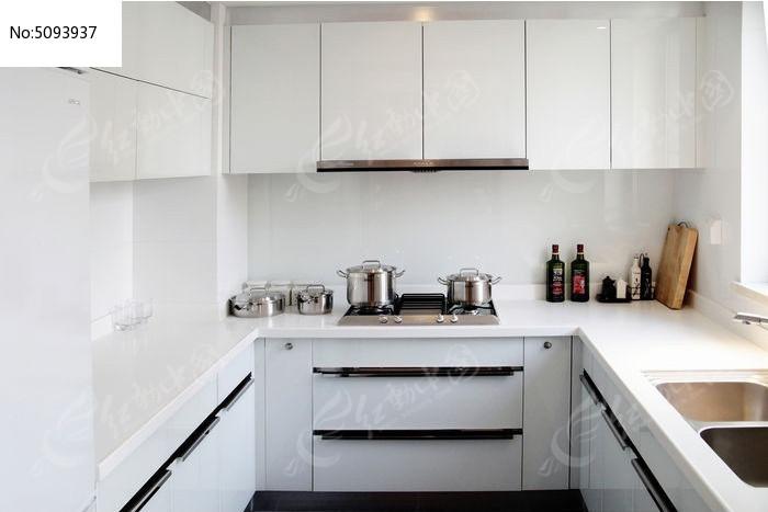 欧式室内 室内装修 开放式厨房