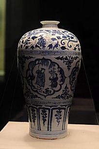 青瓷垂柳瓶