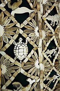 萨满骨服兽骨装饰图案