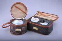 陶瓷功夫茶具旅行套装展开图