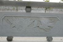 燕子与牡丹桥体石刻浮雕