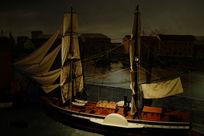 英式轮船模型