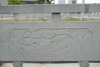 鸳鸯桥体石刻浮雕
