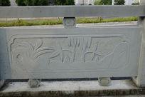 竹林桥体石刻浮雕