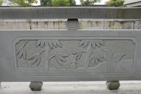 竹叶桥体石刻浮雕
