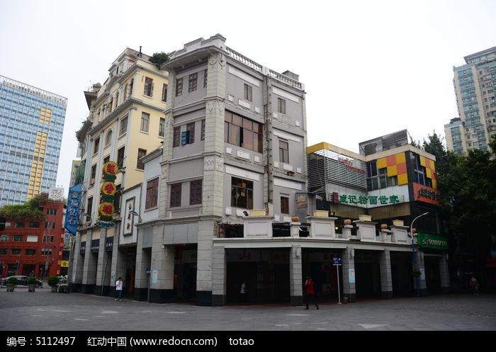 广州建筑骑楼手绘