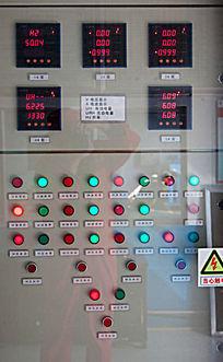 运行中的高压控制柜