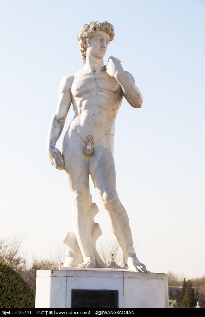 欧式雕塑模型下载