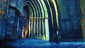 罗马建筑油画