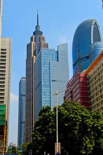 珠江新城高楼