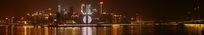 长滨路夜景全景图