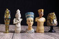 古埃及人物雕像