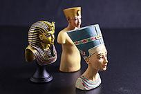 古埃及人物小像