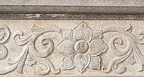 大理石雕刻莲花