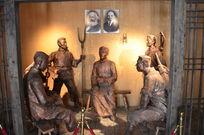 关于抗日人民的雕像