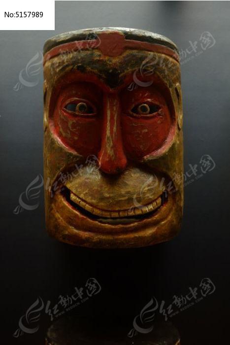 猴子脸面具图片