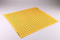 黄色围棋盘