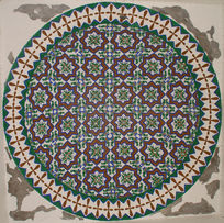 西班牙伊斯兰花纹图案