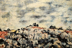 斑驳的色彩墙面彩绘背景