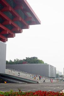 上海中国馆外侧