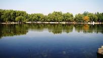 有湖水的风景