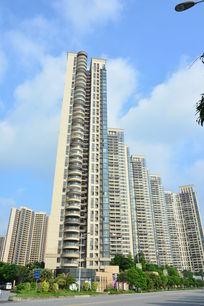 广州保利星海花园洋房建筑群