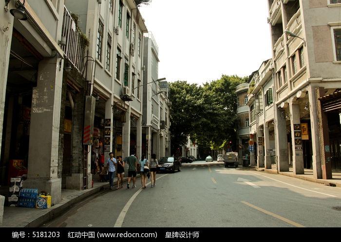 骑楼老建筑图片