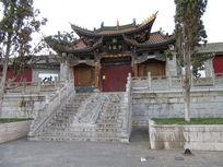 官渡古镇气势恢宏的古建筑少林寺寺庙