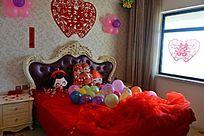 结婚婚房房间场景