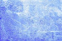 蓝色磨沙纹理