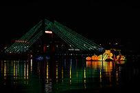 临江门大桥夜景