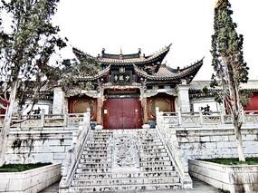 艺术风格古建筑少林寺