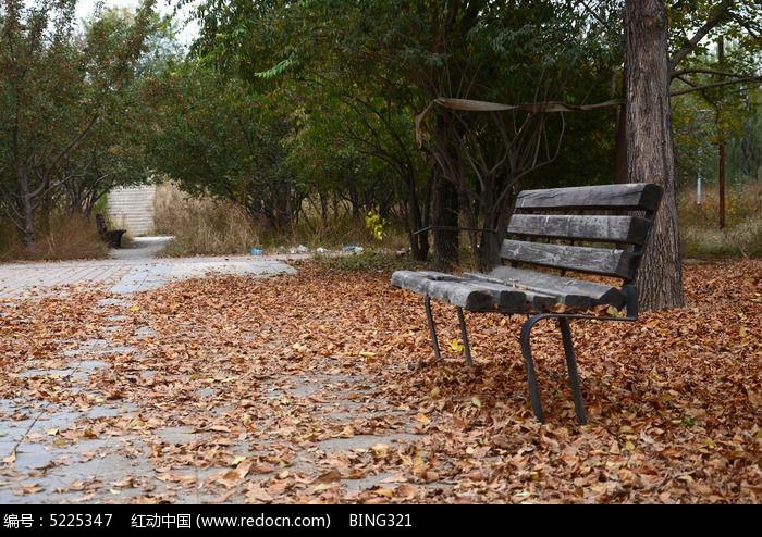 公园长椅图片,高清大图_园林景观素材