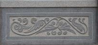 石桥围挡雕刻图案-金枝玉叶