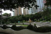 周周乐文化广场全景