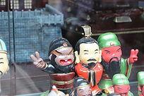 三国卡通人物刘备三兄弟