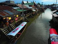 泰国曼谷水上市场