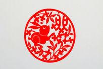 兔十二生肖剪纸