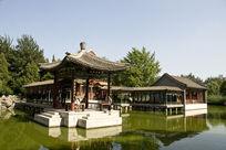 北京大观园观湖亭