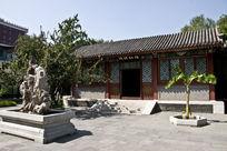 北京大观园怡红院庭院