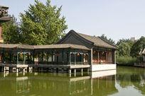 北京大观园水榭