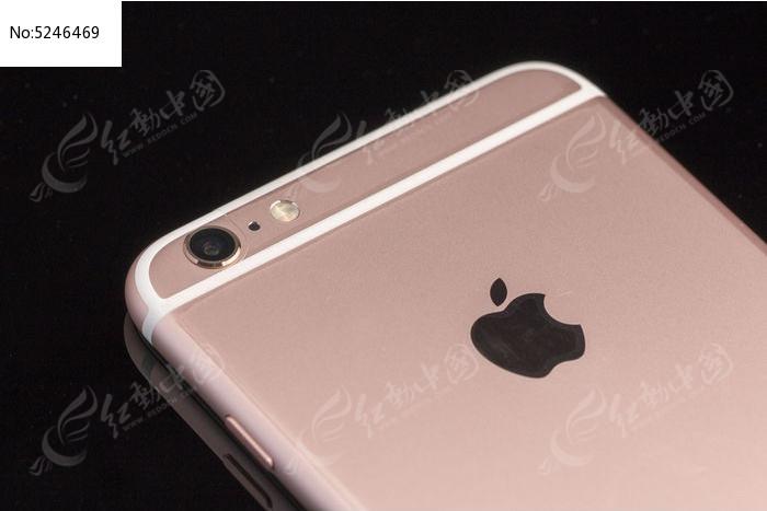 iphone 6s plus玫瑰金摄像头特写