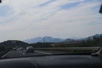 车里拍风景