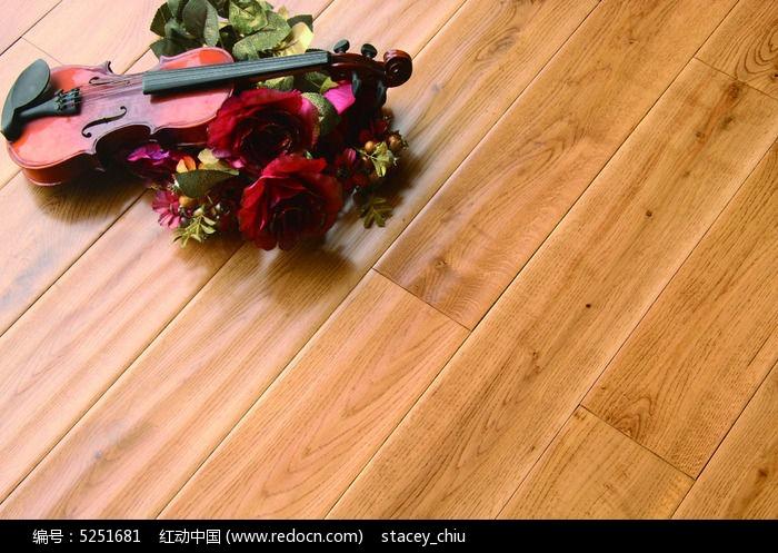 实木地板橡木地板铺装图片,高清大图_时尚家居