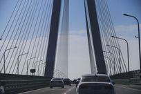 斜拉索桥面