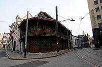 老上海南京路街景