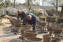 手工艺红陶