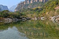 太行山水风光河南林州段景色