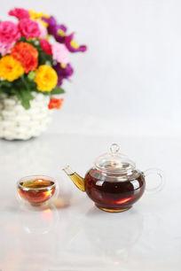 茶壶与花瓶