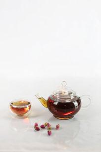 红茶与玫瑰花